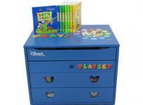 DWE レッツプレイ ワールドファミリー ディズニー英語システム 幼児 こども 英語 教材 2007年頃
