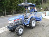 受賞セール滋賀県発 イセキ トラクター TH213 キャノピー ロータリーARH1403 小川の片培土器120型 自動水平 自動制御深さ 直の買取