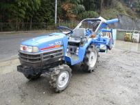 受賞セール滋賀県発 イセキ SIAL153 4WD トラクター 15馬力 自動水平 バックアップ TF153F-KWX ARF12 耕幅120cm 597H 直の買取