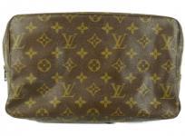 LOUIS VUITTON ルイヴィトン ヴィトン トゥルーストワレット28 M47522 セカンドバッグ 化粧ポーチ クラッチバッグ