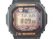 CASIO G-SHOCK カシオ GW-M5610R-1JF タフソーラー マルチバンド6 ブラック オレンジ 腕時計