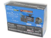 コムテック ZDR-015D GPS搭載 高性能 ドライブレコーダー 前後2カメラ フルHD 200万画素