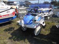 愛知県名古屋市発 イセキ PQ4-DUF 田植え機 4条植え さなえちゃん 施肥機付 ロータリー 8.8馬力 パワステ 直の買取