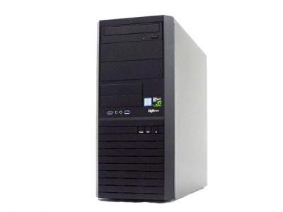 サードウェーブ Monarch XH デスクトップPC i7 8700 3.20GHz 8GB SSD250GB HDD1.0TB GTX1050Ti Win 10 Home 64bit