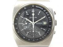 OMEGA オメガ スピードマスター 創立125周年 2000本限定モデル Ref 378.0801 黒文字盤 デイト SS メンズ