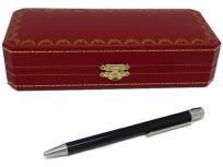 Cartier カルティエ サントス ドゥ カルティエ ボールペン ブラック