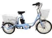 アシらくチャーリー 電動アシスト 三輪 自転車 MIMUGO MG-TRM20EB ミムゴ 三輪車 電動自転車 大型の買取