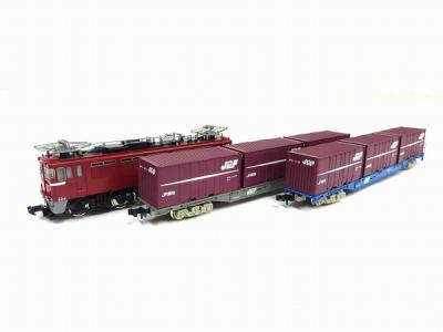 TOMIX 92214 JR ED75 コンテナ 列車 機関車 貨物 セット