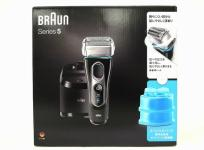 BRAUN Series 5 5197cc-SP S5 with Clean & Charge System 電気 シェーバー ブラウン 家電