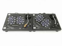 Technics SL-1200MK5 ペア DJ ターン テーブル レコード プレーヤー オーディオ テクニクス 音楽 鑑賞の買取