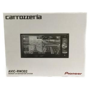 Pioneer パイオニア carrozzeria カロッツェリア 楽ナビ AVIC-RW302 カーナビ 7V型 メモリー ナビ