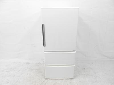 AQUA アクア AQR-361F(S) ノンフロン 4ドア 冷凍冷蔵庫 355L 2017年製