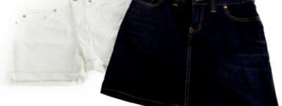 TOMMY HILFIGER トミーヒルフィガー デニム スカート パンツ セット レディース