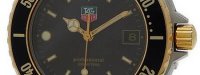 TAG Heuer タグホイヤー プロフェッショナル 925.213G-20 メンズ クォーツ デイト