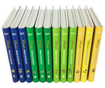 ディズニーの英語システム DWE ストレートプレイ DVD 12枚セット 2008年頃 子供英語 教材