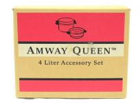 Amway 103813J2 クイーン 4L シチューパン セット スティーマー ドーム型カバー 鍋 調理器具