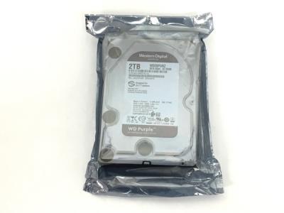 WD製 ハードディスク WD20PURZ 2TB PC パソコン 周辺機器