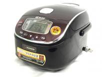 象印 圧力IH炊飯ジャー 極め炊き NP-RY05 3合炊き 0.54L 炊飯器 18年製 ダークブラウン