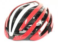 LAZER Z1 LZ-HH-13 ヘルメット RED WHITE FREE 自転車用品