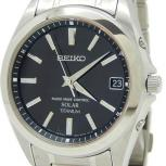 SEIKO セイコー スピリット 7B52-0AK0 SBTM217 腕時計 デイト ブラック文字盤 ソーラー電波 メンズ