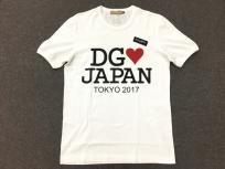 DOLCE&GABBANA ドルチェ&ガッバーナ ドルガバ Tシャツ #DGmillennials JAPAN TOKYO 2017 サイズ48