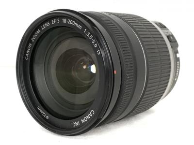 Canon ZOOM LENS EF-S 18-200mm F3.5-5.6 IS レンズ カメラ 写真 キヤノン