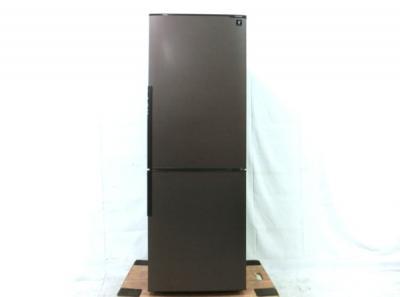 SHARP シャープ SJ-PD27C-T 冷蔵庫 271L 2ドア