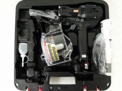み MAX HN-65N3(D) -BK 高圧 釘打機 コイルネイラ スーパーネイラ マックス 工具 現場 DIY