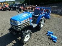千葉県発 イセキ TM15F ARM12 165h トラクター 15馬力 実働品 4WD 小型 乗用 シンプル装備 ロータリー付 直の買取