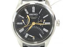 SEIKO PRESAGE セイコー プレサージュ プレステージライン SARD011 漆ダイヤル クロコレザー 自動巻き 黒文字盤 メンズ