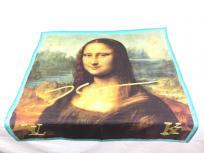 LOUIS VUITTON ルイヴィトン マスターズコレクション カレ 90 スカーフ モナリザ シルク100% M70617 レディース メンズの買取