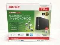 BUFFALO ネットワーク ハードディスク LS210D0201G 2.0TB 2TB