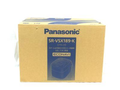 Panasonic パナソニック SR-VSX189-K スチーム&可変圧力IHジャー炊飯器 1升炊き