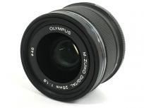 OLYMPUS M.ZUIKO DIGITAL 25mm 1.8 MSC 一眼レフ カメラ レンズ