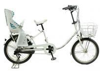 BRIDGESTONE ブリヂストン 自転車 リアチャイルドシート付き bikke MOB b BM03T 楽 大型