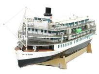 斉藤製作所 1/73 DELTA QUEEN デルタクイーン 外輪船 模型 直