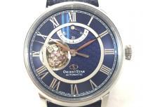 ORIENT STAR オリエントスター セミスケルトン RK-HH0002L メンズ 自動巻き 腕時計
