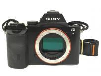 訳有 SONY ソニー α7 ILCE-7 カメラ ミラーレス一眼 ボディ 趣味 コレクション 撮影の買取