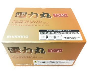SHIMANO シマノ 電力丸 10Ah リチウムイオン バッテリー 釣具