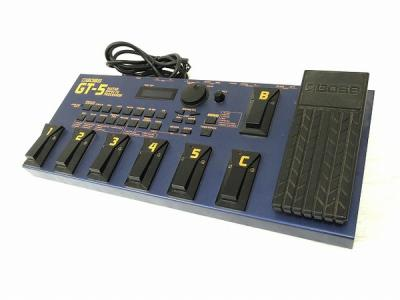 BOSS GT-5 GUITAR EFFECTS PROCESSOR マルチエフェクター
