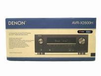 DENON AVR-X2600H AVアンプ レシーバー 2016年製 ブラック デノン 音響機材