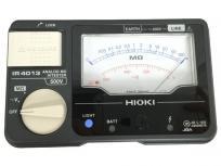HIOKI 絶縁抵抗計 アナログ メグオーム ハイテスタ IR4013 測定器