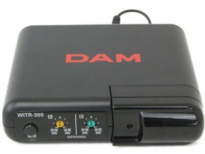 第一興商 WITR-300 ワイヤレスマイク レシーバー カラオケ用 機器