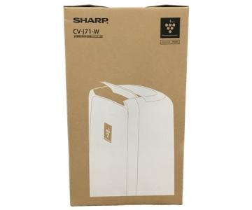 SHARP 衣類乾燥除湿機 除湿器 CV-J71-W ホワイト 2019年製 シャープ