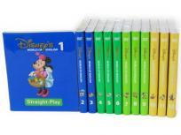 ディズニーの英語システム DWE ストレートプレイ DVD 12巻セット こども英語教材 2013年頃