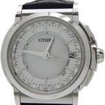 CITIZEN シチズン エコドライブ H149-T018131 腕時計 レザーベルト メンズ