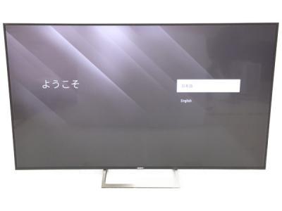 SONY ソニー BRAVIA KJ-75X8500E 75型 4K対応 17年製 液晶 テレビ 映像 機器 家電 大型