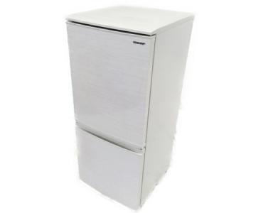 SHARP SJ-D14E 冷蔵庫 2ドア 2019年製 137L 家電 つけかえどっちもドア 単身