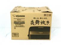 象印 NW-KB10-BZ 5.5合炊き 炎舞炊き 圧力IH炊飯ジャー 家電