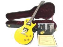 Gibson Custom ギブソン Tak Matsumoto 松本 孝弘 Les Paul Standard レスポール Canary Yellow 2018 エレキ ギター